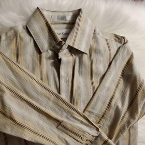 Boys size 6 Calvin Klein long sleeve  button down